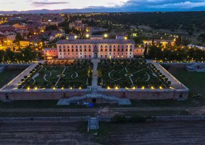 El Acebo-La terraza de palacio